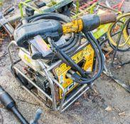 JCB Beaver petrol driven hydraulic power pack c/w anti-vibe breaker & hoses A688175/A712961 **