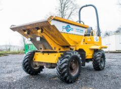 Thwaites 3 tonne swivel skip dumper Year: 2005 S/N: 1B0366 Recorded Hours: Not displayed (Clock