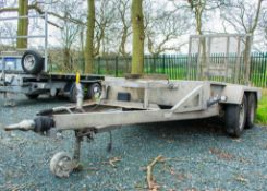 Indespension 8ft x 4ft tandem axle plant trailer S/N: 120580 A707288