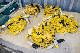 Quantity of 110b extension leads