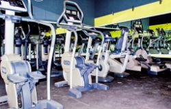 Technogym Commercial Gym Equipment & Professional 16ft Boxing Ring