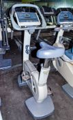 Technogym Excite 700 exercise bike ** No VAT on hammer price but VAT will be charged on buyers