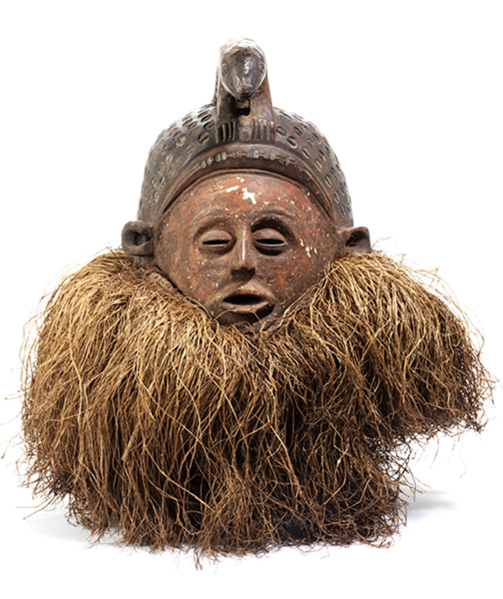 Los 905 - Helmmaske Höhe: 26 cm. Volk der Holo, Angola/ Demokratische Republik Kongo, 20. Jahrhundert....