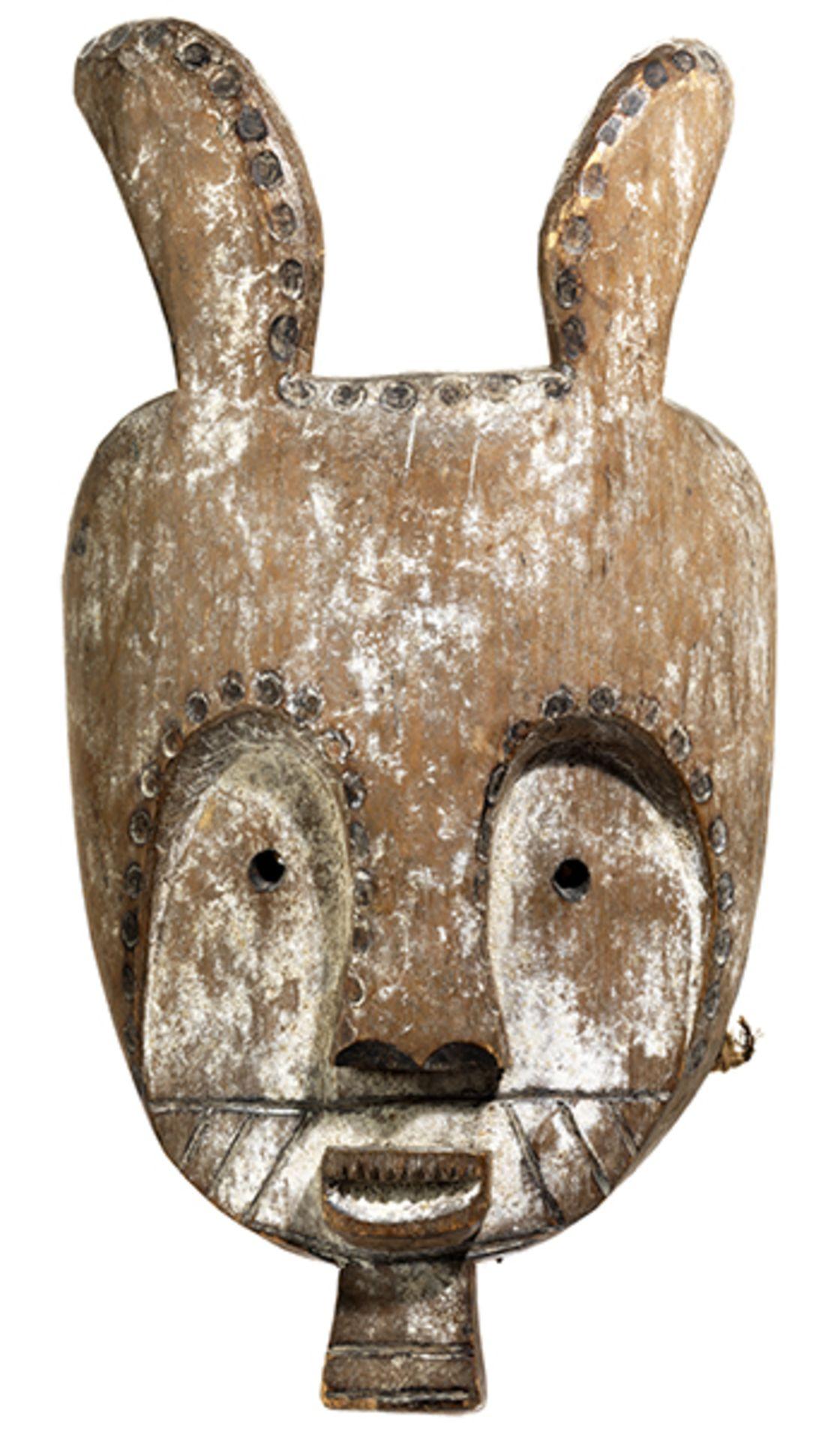 Los 900 - Maske der Fang Höhe: 46,5 cm. Gabun / südliches Kamerun, Volk der Fang. Die Ethnie ist im Süden...
