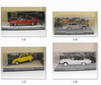 GE Fabbri 007 James Bond Car Collection