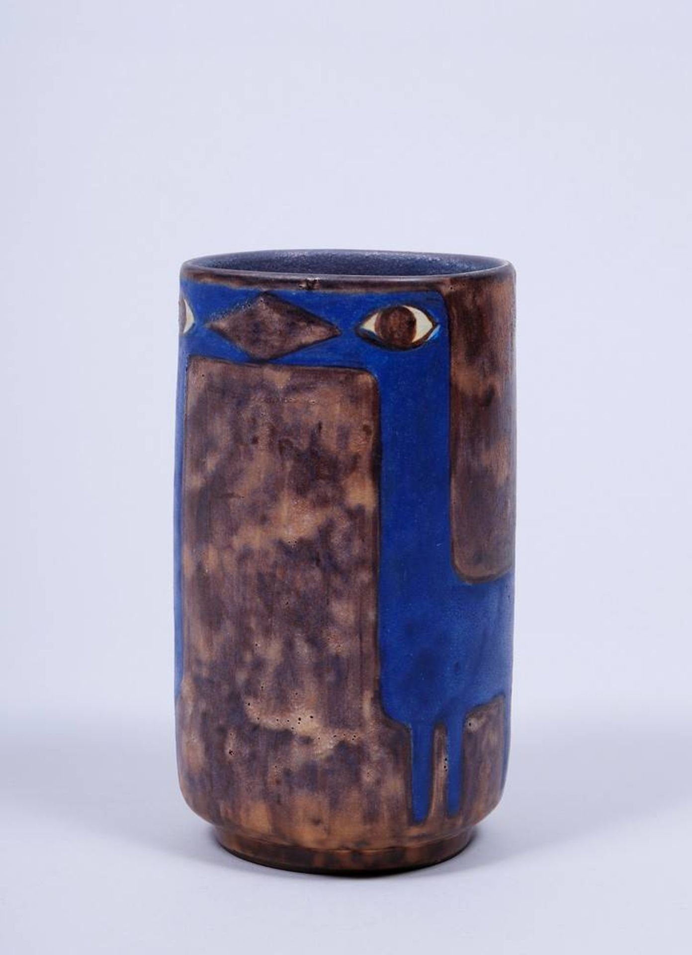 Vase, Entwurf Eva Fritz-Lindner (1933-2017) für Staatliche Majolika Manufaktur Karlsruhe, um 1970