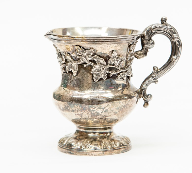Lot 49 - A William IV silver Christening cup, London 1836, inscribed to centre, inscribed to centre, with