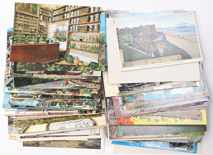 Lot 3110 - Postcards; a collection of 1950's and some earlier postcards transport, miscellaneous, UK & European