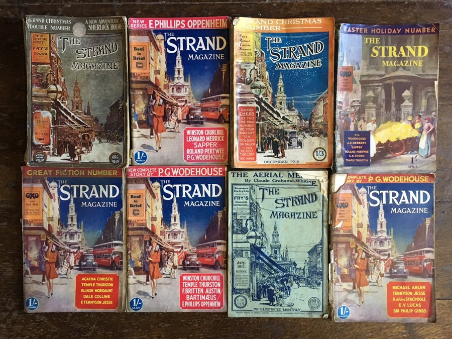 Lot 39 - Collection of British pulp fiction magazines, including The Strand (Grand Christmas Double Number,