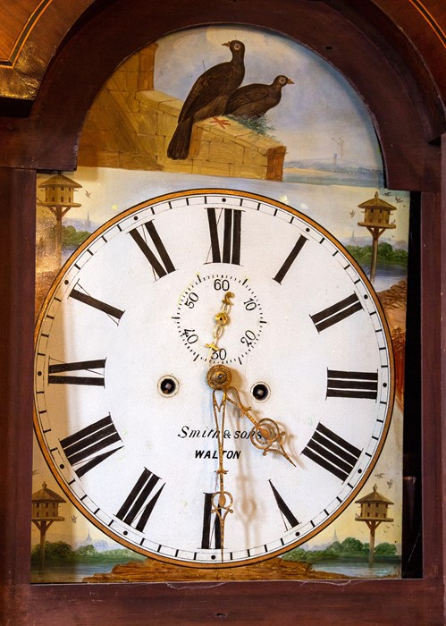 Lot 3000 - An early 19th Century eight day mahogany and oak longcase clock, by Smith and Sons, Walton-on-Trent,