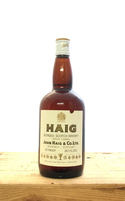 Lot 290 - A bottle of 1960's Haig Gold Label Blended Scotch Whisky, in excellent condition.  Region: