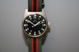 A replica Hamilton military tyre wristwatch