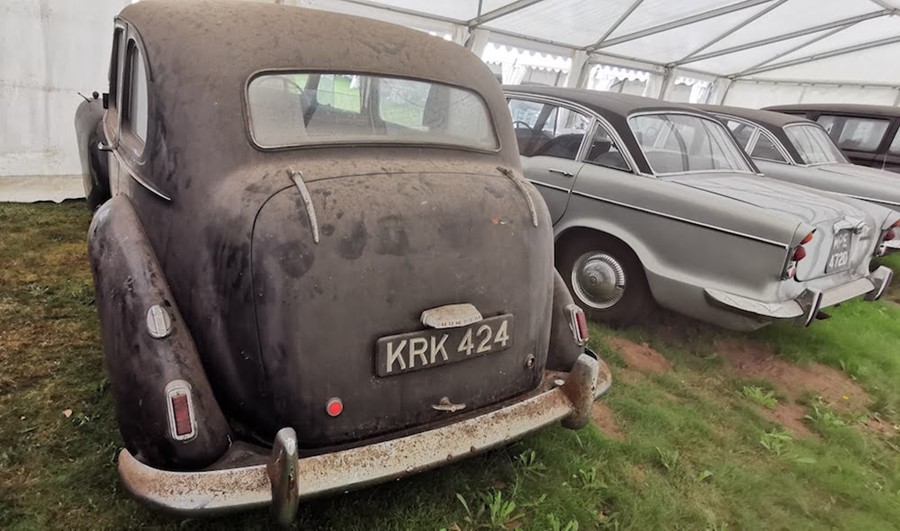 Lot 8 - 1952: KRK 424 MKII Pullman.  THIS IS NOW A CLOSED AUCTION RUNNING AT 12 NOON ON WEDS 28TH. NO