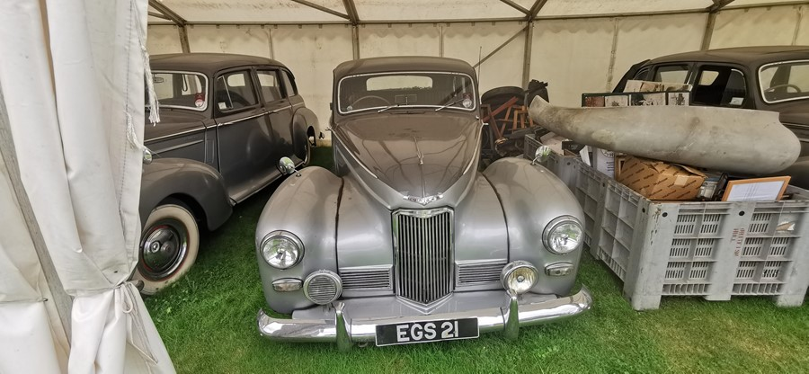 Lot 10 - EGS 21: HUMBER SUPERSNIPE MKIII 1952 The Queen Mothers Car. Used by The Queens Mother at the