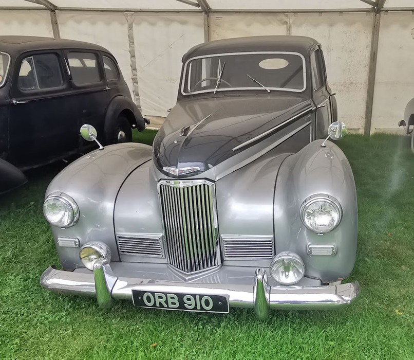 Lot 6 - ORB 910: 1950 MKIII HUMBER IMPERIAL  THIS IS NOW A CLOSED AUCTION RUNNING AT 12 NOON ON WEDS 28TH.