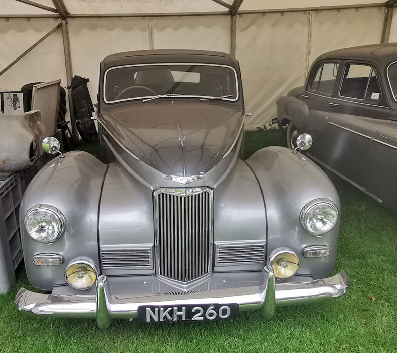 Lot 11 - NKH 260: HUMBER SUPERSNIPE MKIII 1952 THIS IS NOW A CLOSED AUCTION RUNNING AT 12 NOON ON WEDS 28TH.