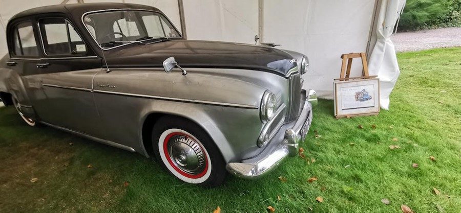 Lot 13 - 1953: RUG 224 MKIV Super Snipe. IMPORTANT NOTE: THIS VEHICLE HAS INCONSISTENCIES WITH THE