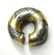 Bronze Age Ring Money. Circa 1150-800 BC. Gold/Silver/Copper, 13.12 grams. 16.58 mm. A Late Bronze