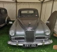 RWY 193: HUMBER SUPERSNIPE MKIV 1952. From the Humber Car Museum. This car has been driven by