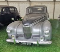ORB 910: 1950 MKIII HUMBER IMPERIAL.  It has not been possible to access the engine bay to confirm