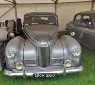 NKH 260: HUMBER SUPERSNIPE MKIII 1952. From the Humber Car Museum. Note: This vehicle has been