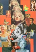 David Wilde (British, 1913-1974), My Renaissance Marilyn, signed l.r., titled l.l., collage in mixed