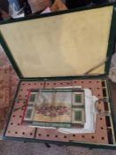 **REOFFER DEC FINE ART 30-50** Boxed MOBACO set. Complete 2 layers in original box. With