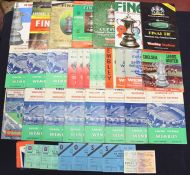 F.A. Cup: A collection of assorted F.A. Cup Final programmes to include: 1952, 1955, 1956, 1957,