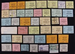 Tottenham Hotspur: A collection of approx. 40 Tottenham Hotspur tickets, mostly 1970's, some untorn.