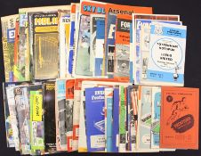 Football programmes, collection of 150 different LEEDS UNITED AWAY MATCHES, 1950 to 1996, League and