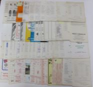 A collection of 103 assorted NON-LEAGUE programmes from 1955/6 to 1982/3 including various