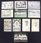 Derby County: A collection of eleven early 20th century, Derby County related postcards to