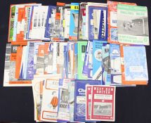 Miscellaneous: A collection of assorted miscellaneous league and cup football programmes, 1960's