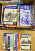 A collection of assorted football programmes to include; various 1960's to modern, Leicester City,