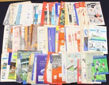 Miscellaneous: A collection of assorted football league and cup programmes to include: various