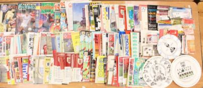 A collection of assorted football programmes, mostly modern Non-League, including Gresley Rovers