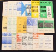 Irish Programmes: A collection of assorted 1960's Irish programmes, to include: Linfield; Shamrock