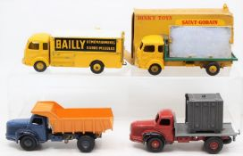 Dinky: A boxed, French Dinky Toys, Miroitier Simca 'Cargo', 33, box heavily worn, missing one end