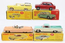 Dinky: A collection of four boxed Dinky Toys to comprise: Rambler Cross Country Station Wagon,