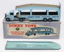 Dinky: A boxed Dinky Toys, Pullmore Car Transporter, 982, complete with loading ramp, box lid