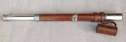 Single Draw Telescope by Negretti & Zambra, London. Dated 1892. Also marked 227. Complete with