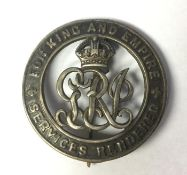 WW1 British Silver War Badge number B170575 awarded to S/8818 Sjt Locksley J Philips, 5th Argyle and