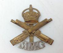 WW1 British Motor Machine Gun Corps (formed Tank Corps in 1917) Rare Bi-metallic Other Ranks'
