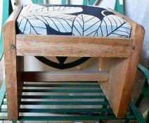 ****LOCATED AT GRESLEY****Three small side tables/stools, mahogany and pine