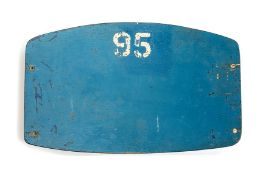 ***WITHDRAWN*** World Cup: A 1966 World Cup archive, comprising: an original No. 95 seat back from