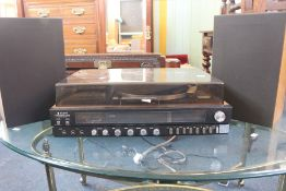 ***LOCATED AT GRESLEY**** A 1970's Sanyo table top stereo system