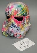 LP Edits Stormtrooper Helmet Exeter (UK) based artist Full size Stormtrooper Helmet with COA
