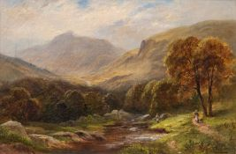 George Turner (British, 1843-1910), Moel Siabod from the Dalwyddiss Valley, signed l.r., titled