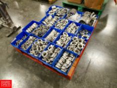 Assorted S/S Pipe Clamps, Located In Dry Storage - Rigging Fee: $ 50