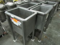 Lot of (3) Parts Soaking Bins, Located In Dry Storage - Rigging Fee: $ 75